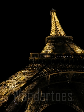 Paris and the Eiffel Tower