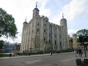 The White Tower, built by William the Conqueror.
