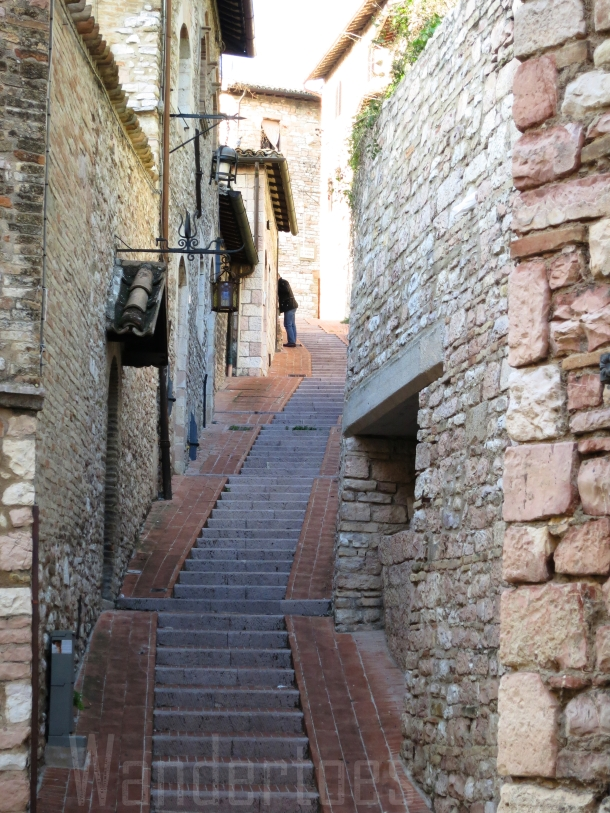 Assissi Steps Watermark