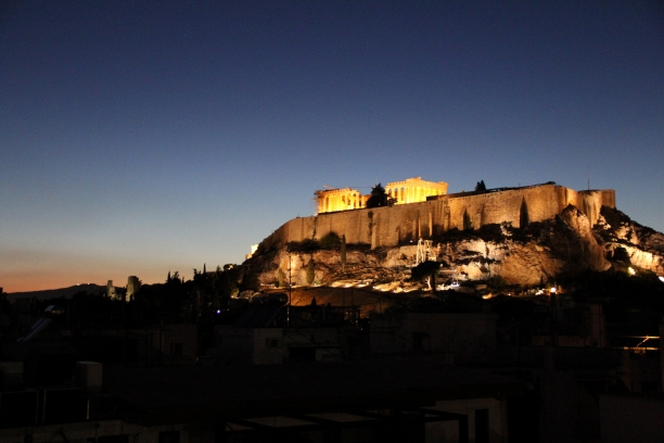 Acropolis Sunset 1