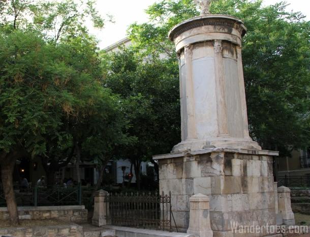 Choragic Monument of Lysacrates Mine Wandertoes