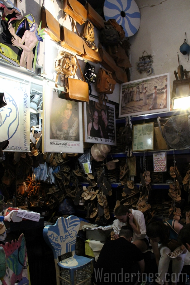 Athens Melissinos Shop 1 Wandertoes