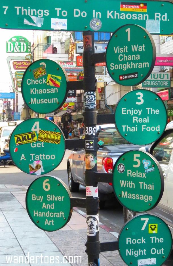 KhaoSan Sign