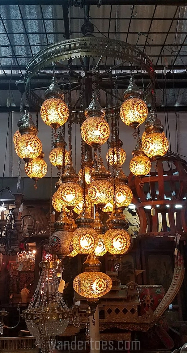 Chatuchak GlassMosaic Chandelier