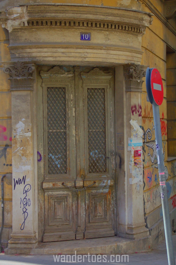 Dilapidated Door