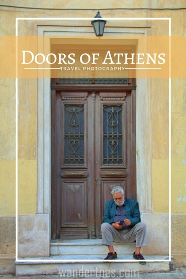 Doors of Athens- A beautiful and worn collection of photographs of doors in the heart of Athens.