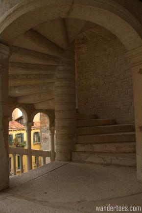 Venice Hidden Gem:  Scala Contarini delBovolo